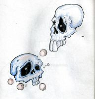 Skulls Tattoo Idea by humanwurm