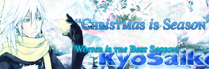 Forum Signature for KyoSaiko(ChristmasTheme Ver.2) by KiiitXD