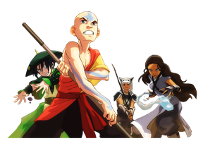 Avatar: The Last Airbender ~ render by hanksss