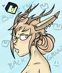 Jackalope Girl by AnimationFan