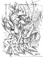 Stryfe and Feral by RobDuenas by TheDeviantMakepeace