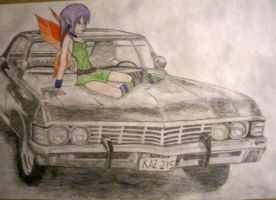 Impala '67 and Fairy by DjRayzor