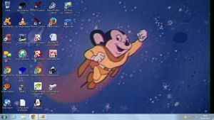 My Mighty Mouse Desktop by SuperMarcosLucky96