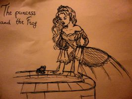 The princess and the frog by DaughterGothel