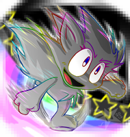 Rainbow Roadrunner by NeppyNeptune