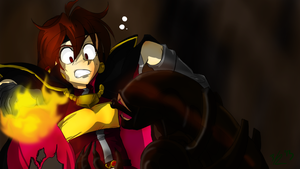 FINISH IT! Request- Lina Vs. Alien by ThreeTwo