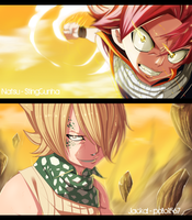 Fairy Tail 360 - Natsu and Jackal collab by StingCunha