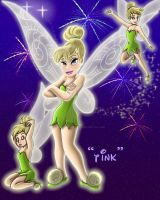 TinkerBell and Magic by Peacekeeperj3low