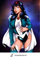 Zatanna 2 by Garrett Blair by Mythical-Mommy