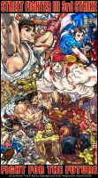 Tribute SFIII 3rd Strike 000 by EnricoManiago