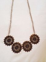 Copper Statement Necklace by PerryAlexandra
