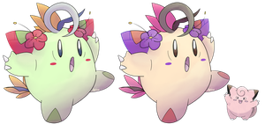 Clefairy-Alolan Form by Multiworx
