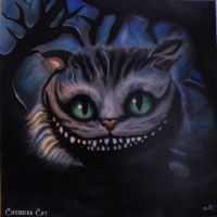 Cheshire Cat, Grinsekatze by Artaner