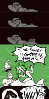 A Very Green Tower by Madbuns