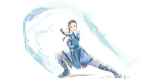 LoL WaterBender by p1stachi0jellyb3anz