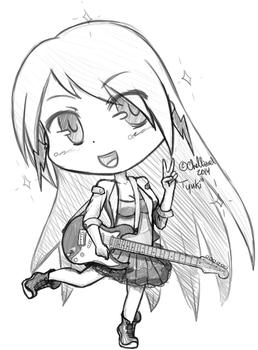 Chibi Tyuki by ChellizardDraws