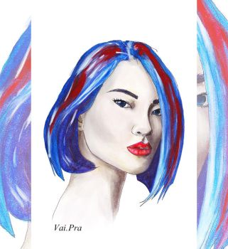 Blue-red by vaipra-art