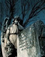 Angel in Cemetary by StephensPhotos