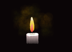 candle (new brushes test 1) by loenabelle