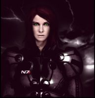 Mass Effect 'Commander Shepard by JasmineAlexandra