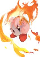 fire kirby by trrng