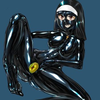 Total Enclosure latex nun by Tiasti