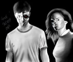 Harry Potter - Terminator by gonesketchy