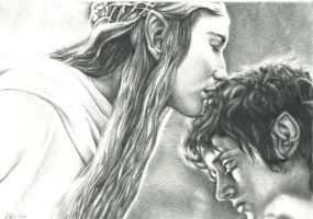 Galadriel and Frodo by ElvesAteMyRamen