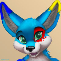 splat_fennec (headshot) by jamesfoxbr