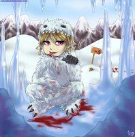 SP. The Abominable Snowman by Eviloddball