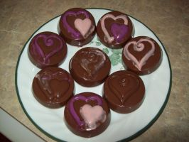 Chocolate Dipped Oreos by Katzy