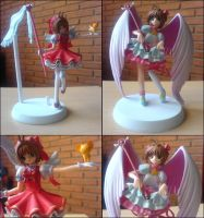 Sakura Winged Figurines by rapaoloni
