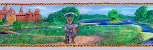 Redwall Tapestry of Great Hall by SSsilver-c