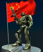 China warbot by MixJoe
