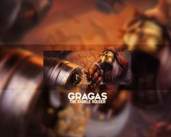 Gragas Wallpaper League of Legends [5] by Madeinbrazil1