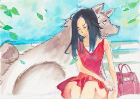 watercolor test 1 by onwa7