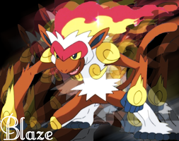 Infernape Background by Dark-Infernape