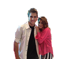 Png Jorge Blanco y Martina Stoessel by Steficeleste