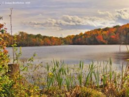 Greenbelt Lake In The Fall by jim88bro