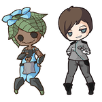 More starbound chibis by anicaruscomplex