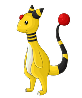 Ampharos no.181 by Toasterbots