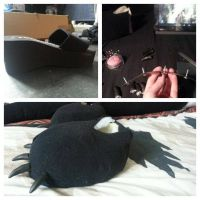 Toothless How To Train Your Dragon QUADSUIT Part11 by ChiruNoCosplay
