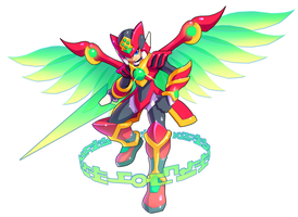 Zero And Dart Feld Fusion By Ultimatemaverickx by V-a-a-N