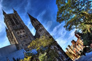 Lincoln Cathedral AM by nat1874