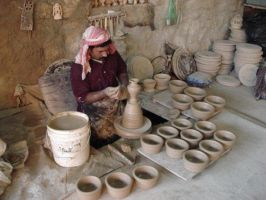 Pottery Maker by Arisia