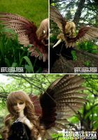 BJD Wings Pheonix Style by Labyrinth-keeper