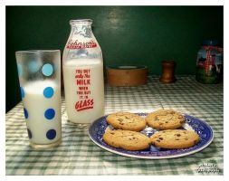 Milk and Cookies at Grandma's by TheMan268