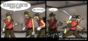 TF2 Comic - Oh Brother by snipergen