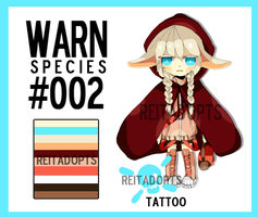 [CLOSED] W.A.R.N. Species Adopt #002 by reitadopts