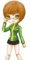 Persona 4: Chie by lyxven